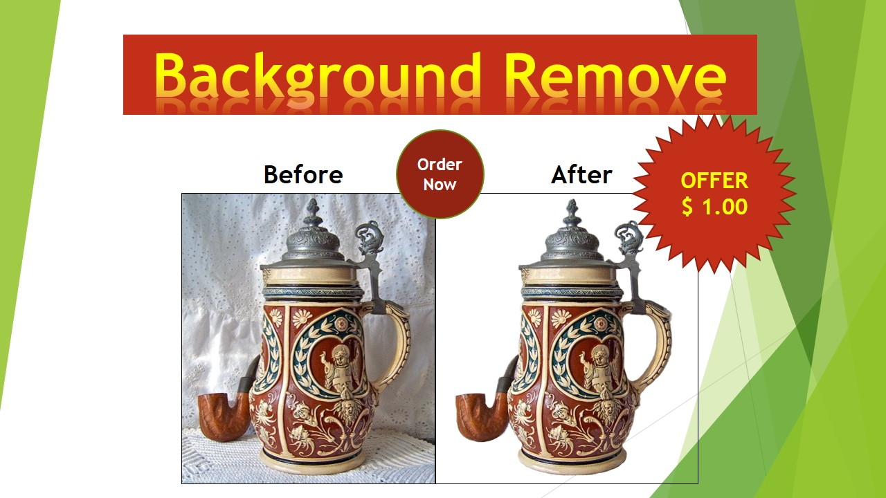 I will retouch the product and remove the background. 02 Images