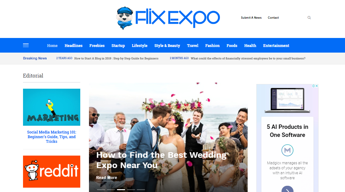 Publish A Quality Guest Post On Flix Expo