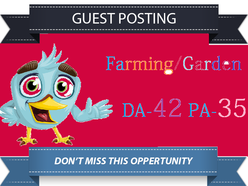 Guest Post On DA42 Garden Farming Home Blog