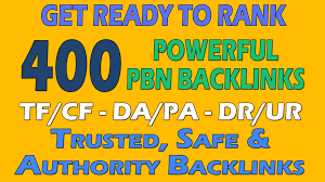Provide 400 PBN DA 20 TO 25+ homepage dofollow authority backlinks
