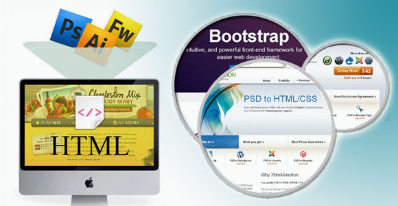 I Will Convert Psd To Html With Bootstrap Responsiveness