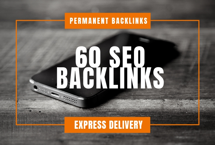 I'll Add 60 High DA SEO Backlinks