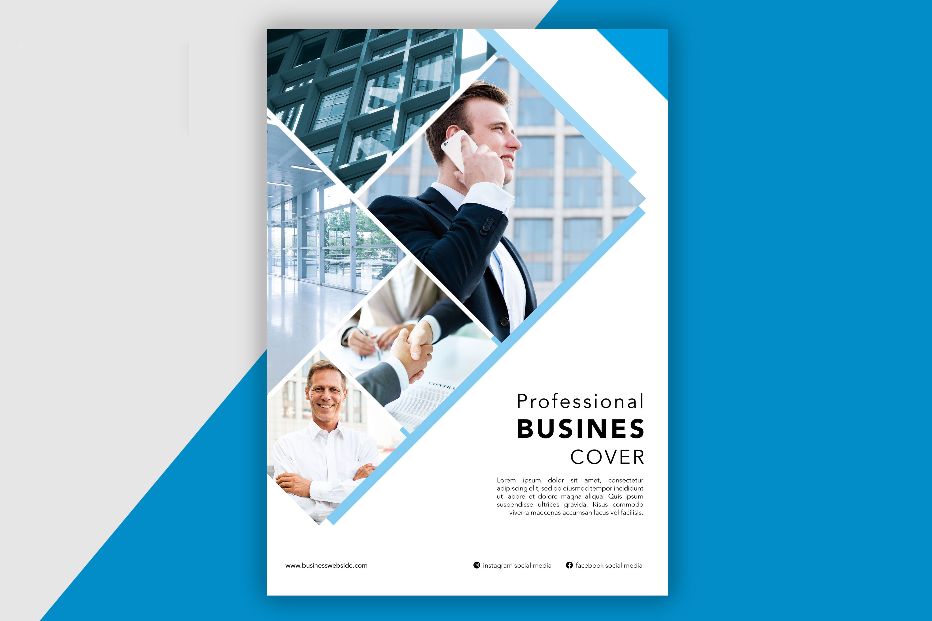 Professional Brochure designing with FREE Business Card Design
