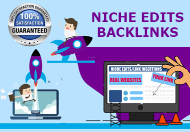 Niche Edits Contextual Backlinks Curated on real websites