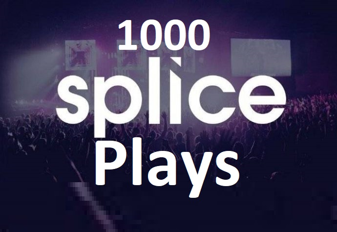 Promote 1000 Splice Remix Views Real and permanent High Quality