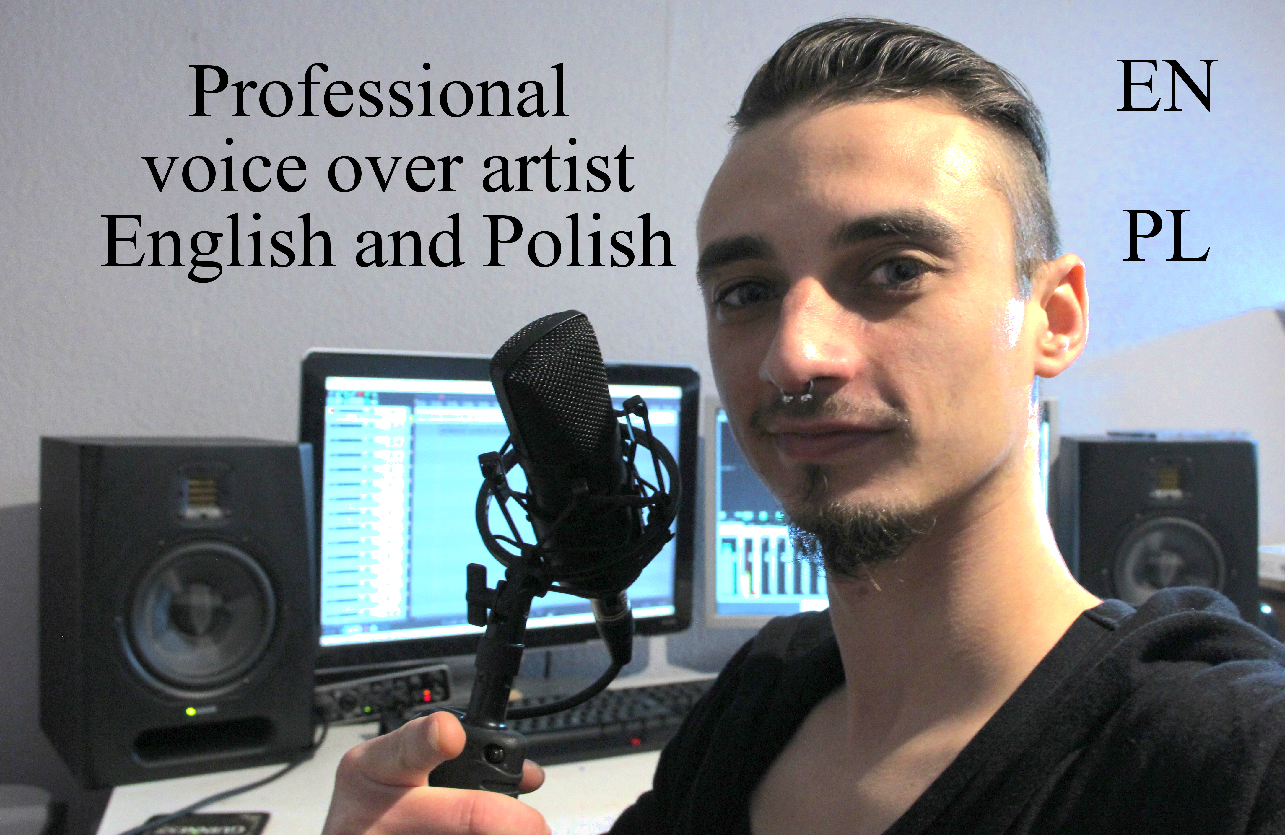 I will record polish voice over for any project you need