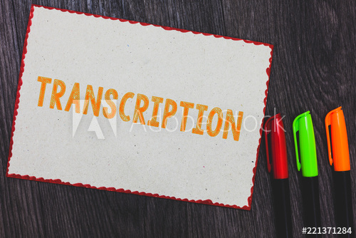 I can Transcribe English or Arabic 30 min video or audio into text
