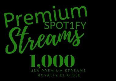 Quick USA Streams Premium & Royalty Eligible