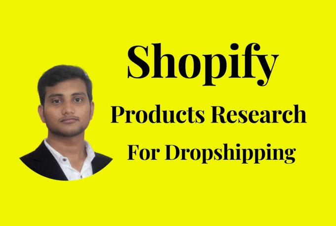 I will do shopify item research for outsourcing winning item