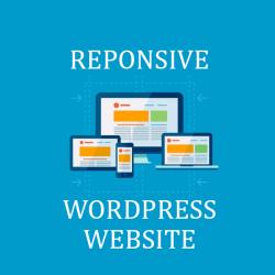 I will Design a Responsive WordPress Website