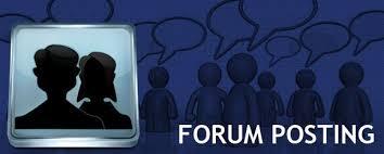 High Quality Forum Posting Service