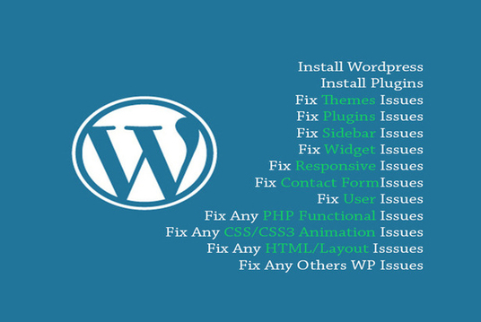 I'll Fix Wordpress Issue Or Answer Question For You