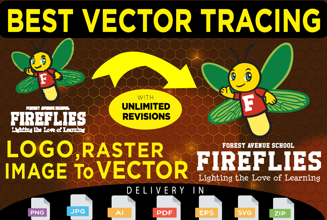 Vector Tracing On Image Or Logo,  Vector Trace,  Redesign,  Vectorise