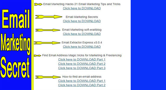 I Give you Email list for All niche fresh + Method to send