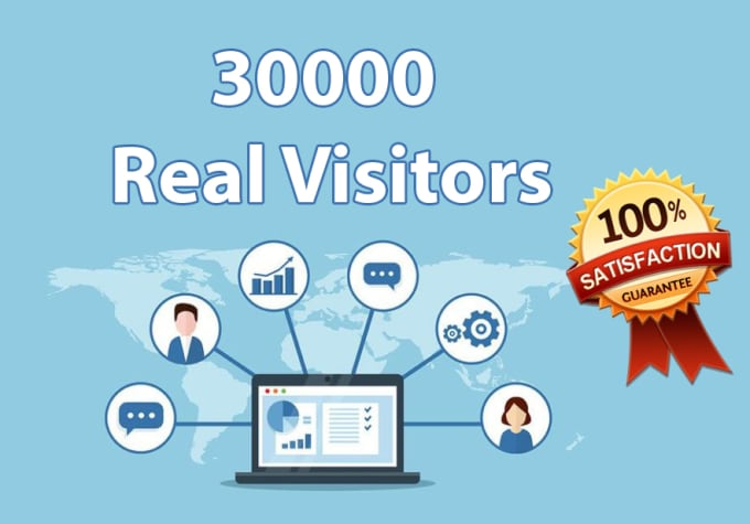 30,000 boost website real targeted web traffic Visitors facebook instagram YouTube twitter Linked