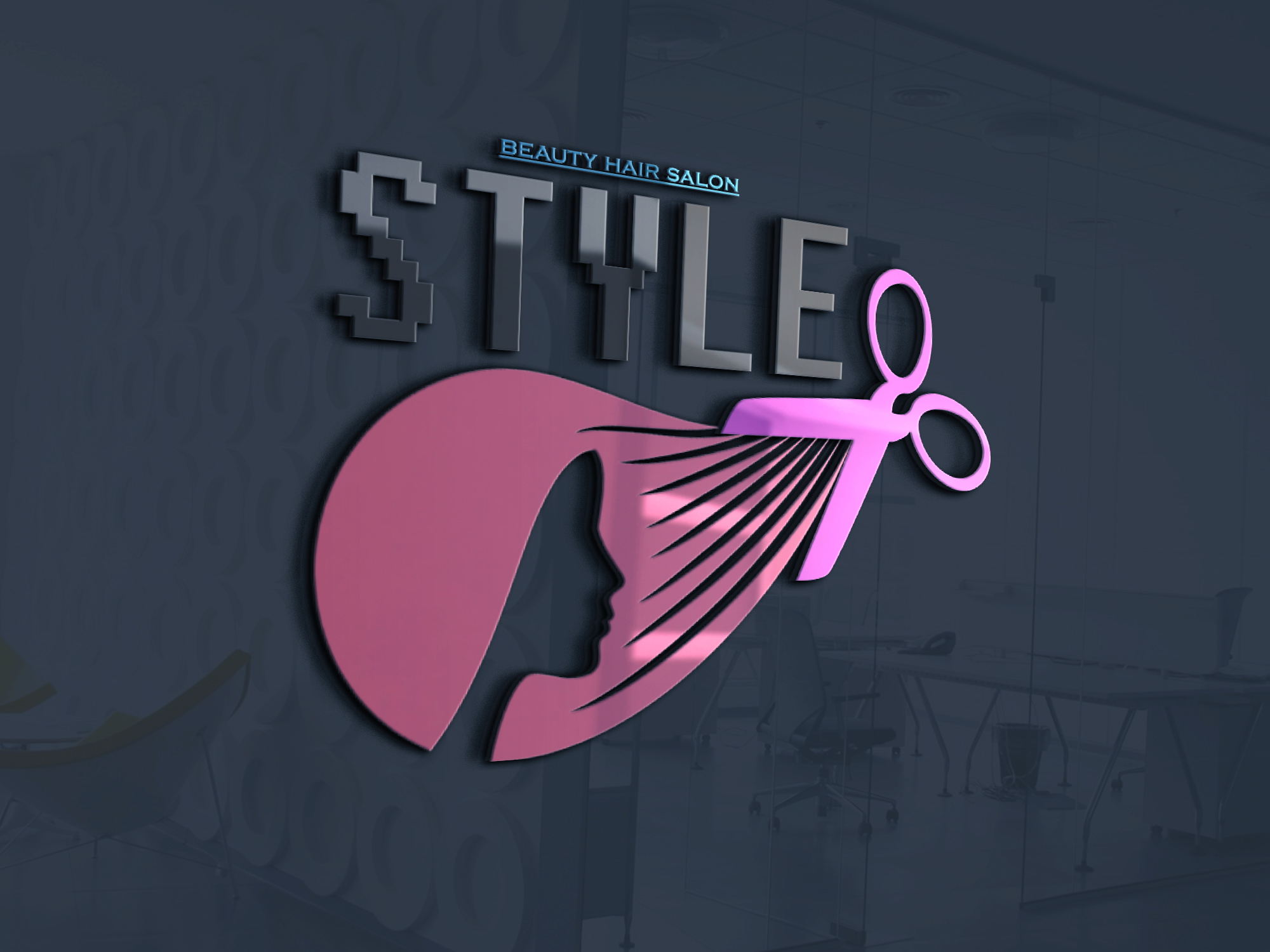 Professional Logo Design, creative, with high quality, within 1day, (inserted in 1MOCKUPs)/ETC