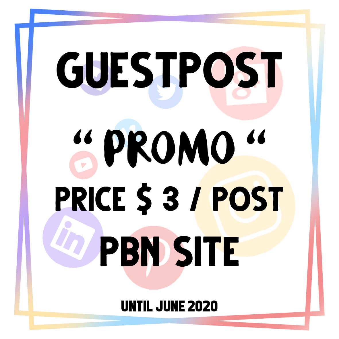 I will provide 1200 PBNs for Guest Post Paid Article Post
