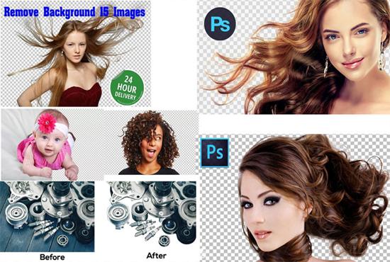 Remove background image super fast