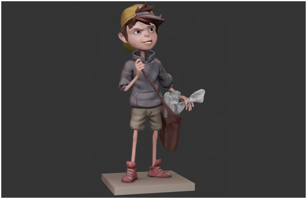 3d character cartoon animation skill games