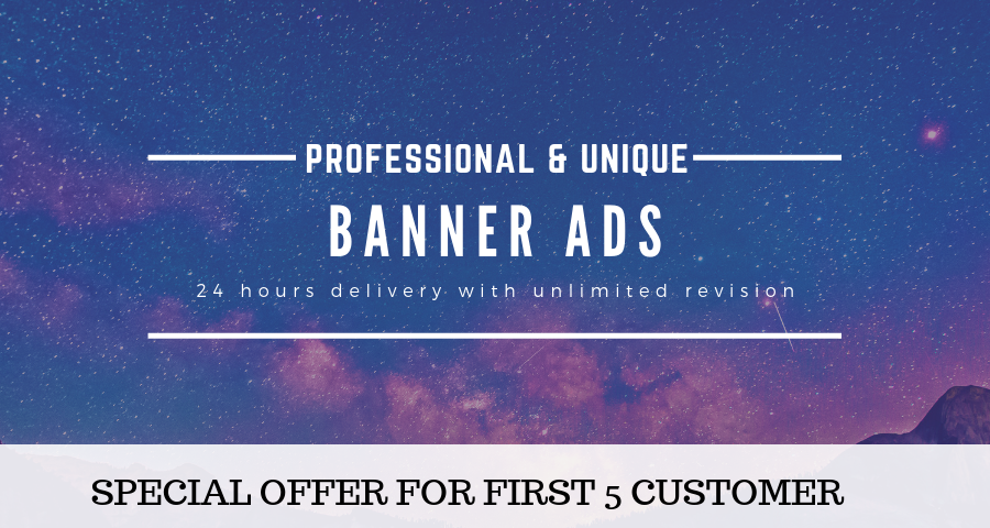 Design Eye Catching Web Banner For Websites And Social Media