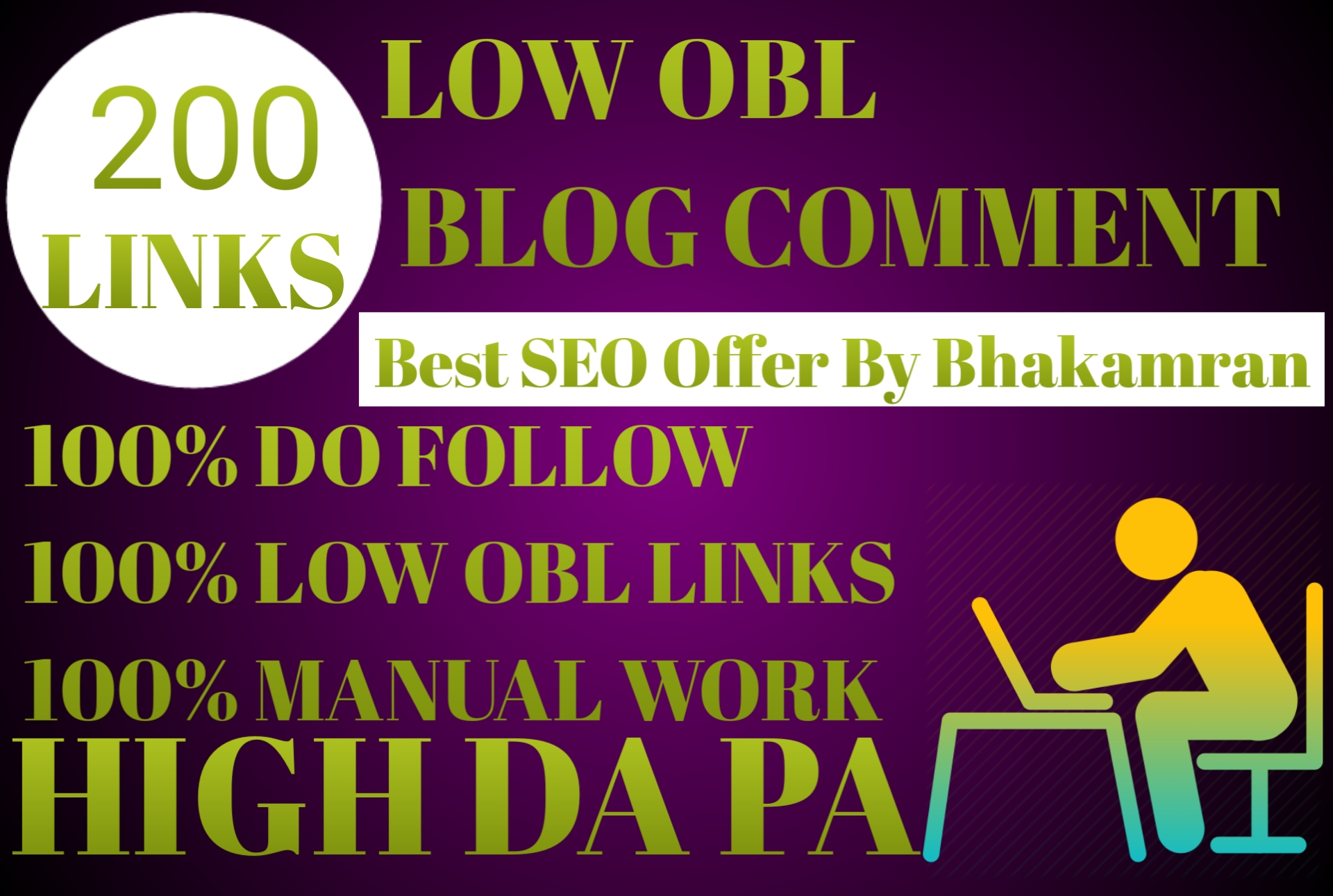Do 200 blog comments on high DA PA backlinks