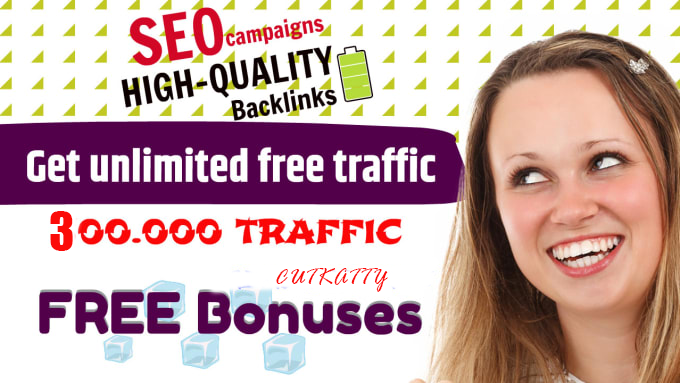 I will boost your ranking with SEO campaigns and get unlimited free traffic