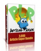 Over 5000 Niche PLR Article Pack