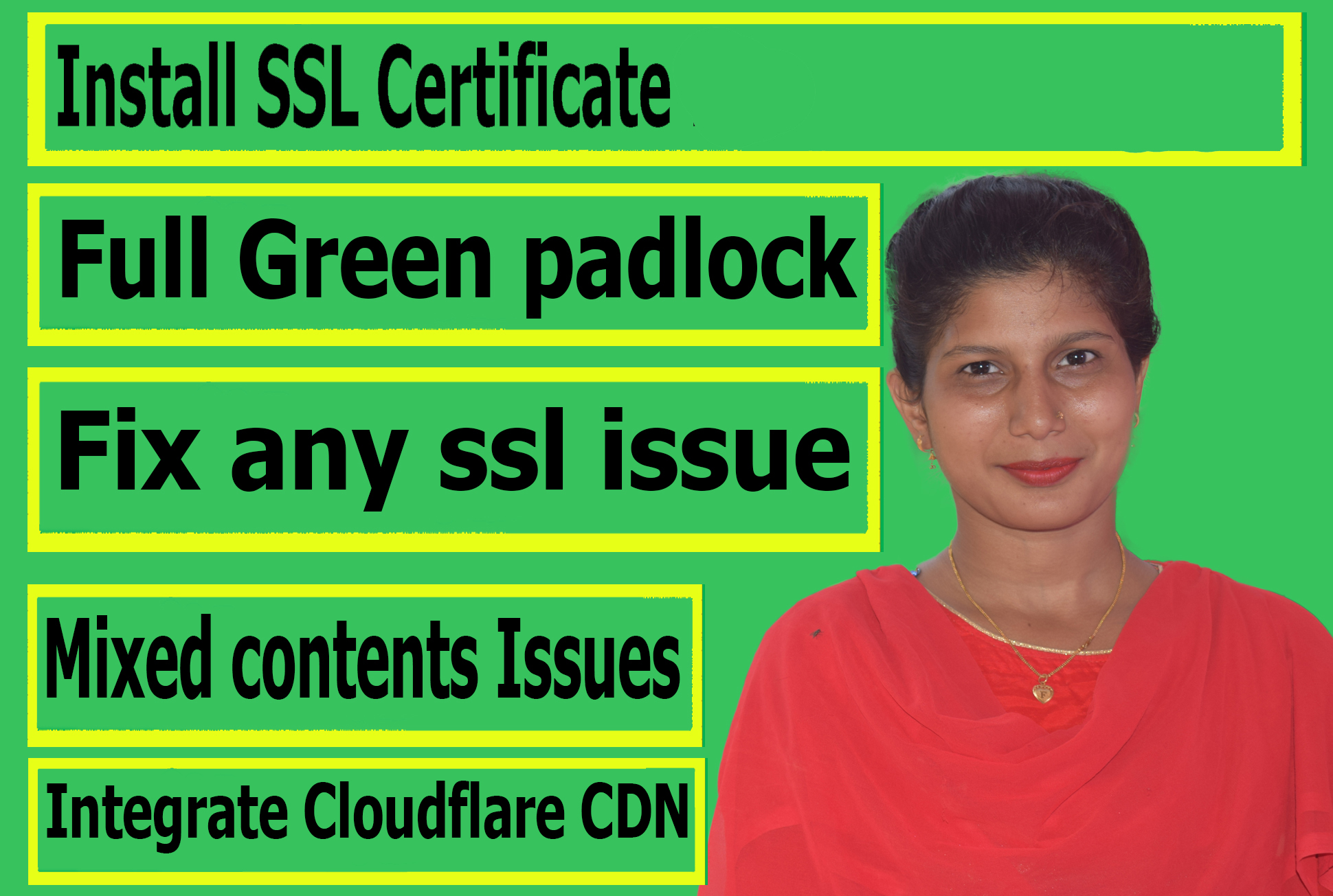 I'll Migrate Http To Https,  Install Ssl Certificate,  Setup Cloudflar CDN