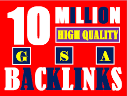 I will build 2 million gsa ser backlinks to increase ranking and index google