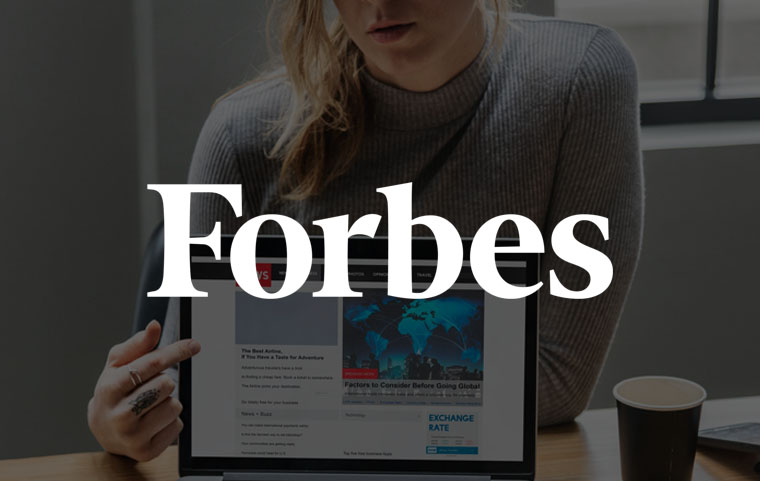 Forbes feature article - Forbes.com PUBLICATION in 1 WEEK