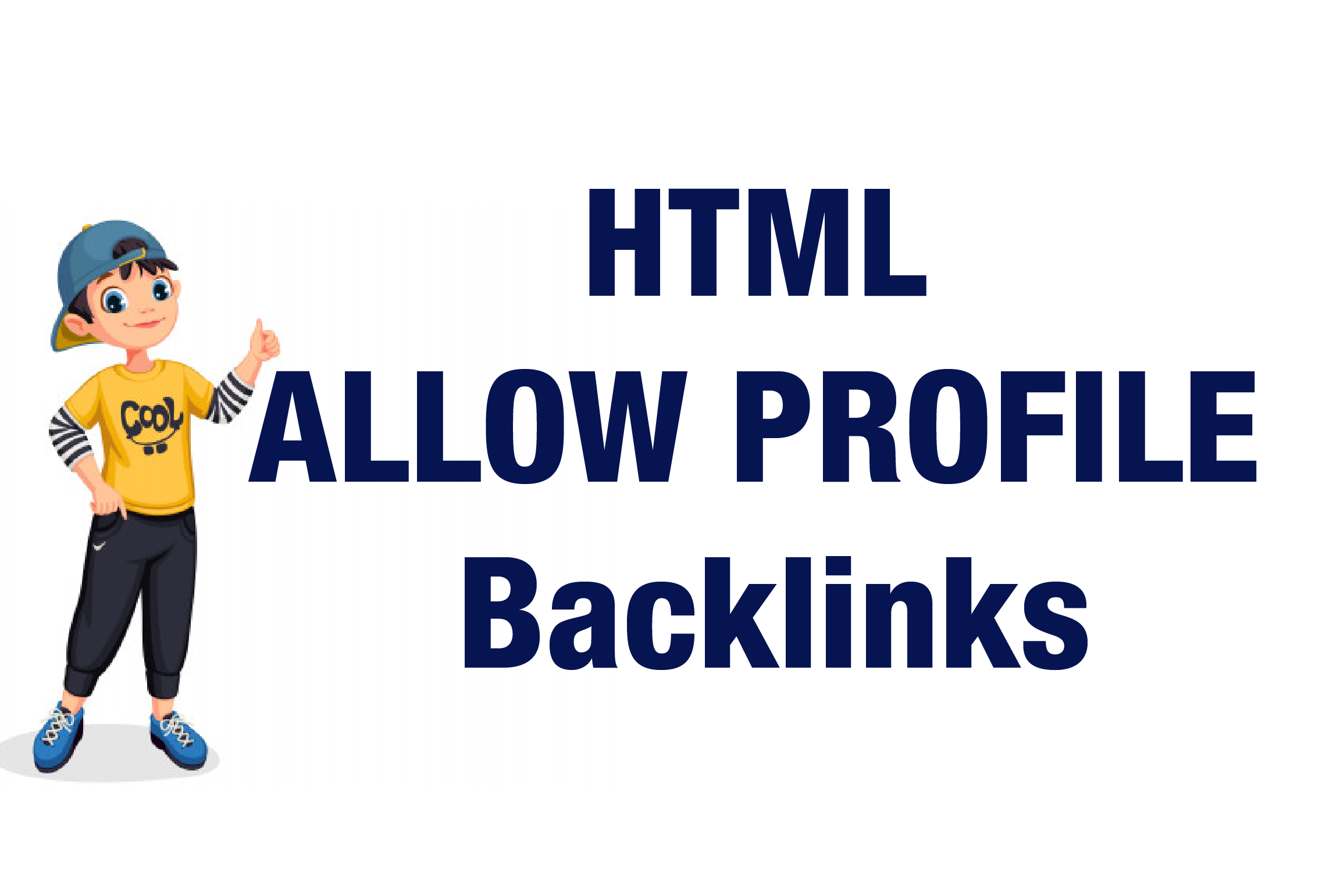 I will Provide Contextual Profile Backlinks From High Authority Sites.