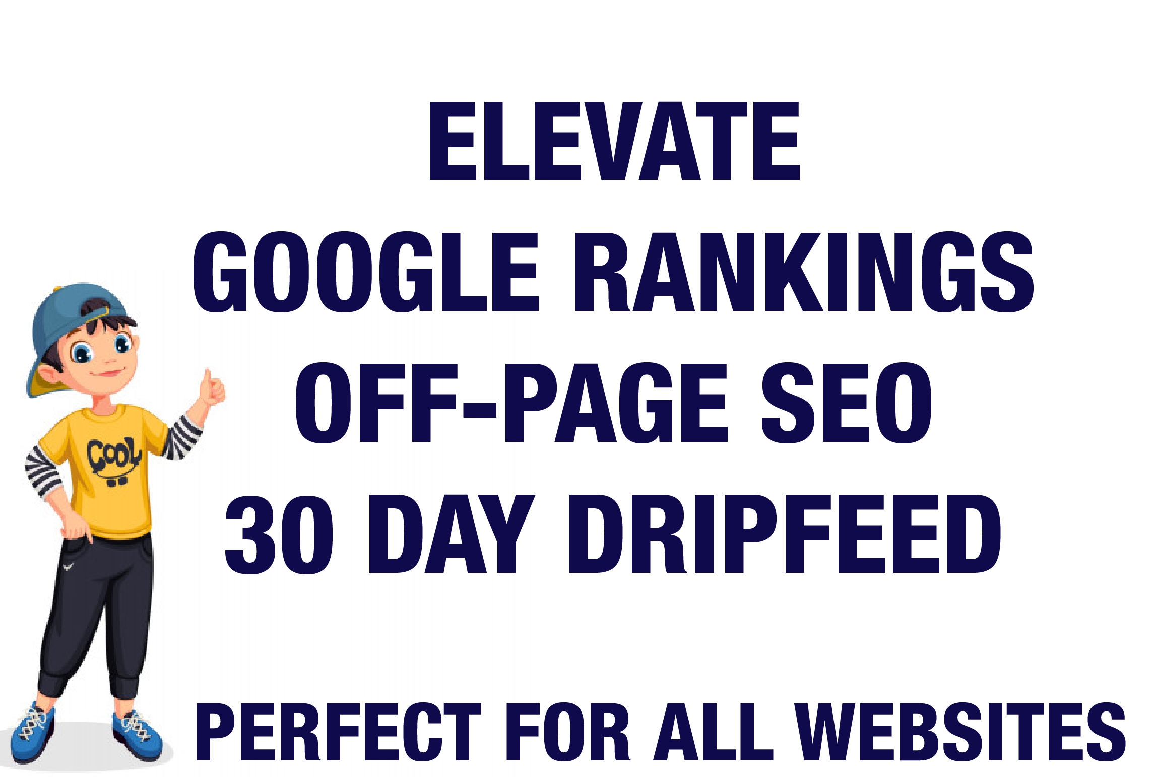 Boost Your Ranking On Google White Hat 30 Day Drip Feed SEO Link Building Service