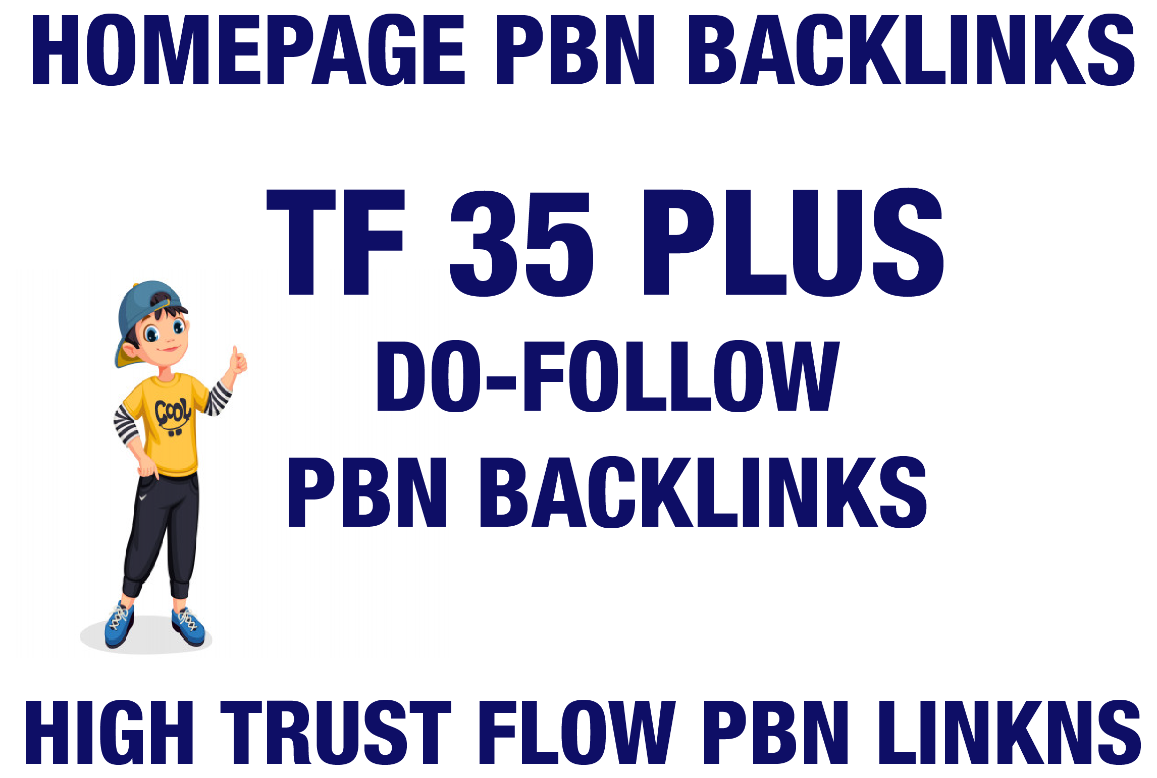 MAJESTIC TRUST FLOW 30 PLUS 5 HOMEPAGE PBN DOFOLLOW BACKLINKS
