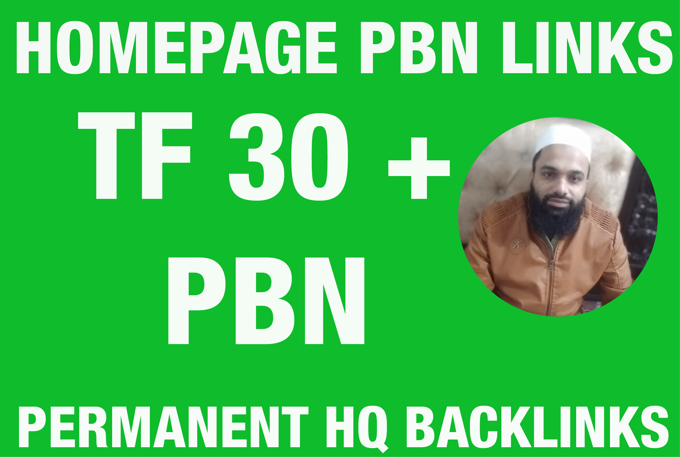 I will Provide TF 20 Plus 50 Homepage PBN Backlinks