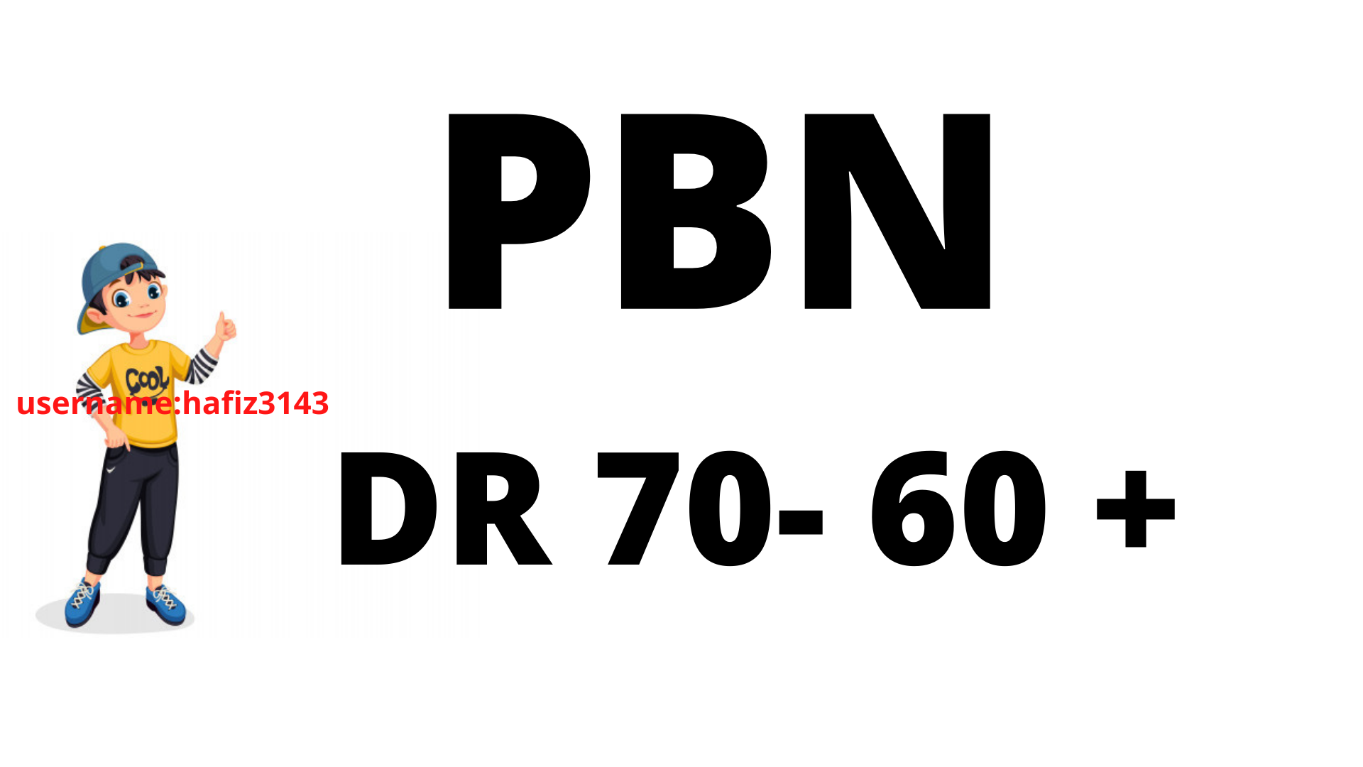 Build DR 70 To 60 22 PBN Backlinks High Authority Links