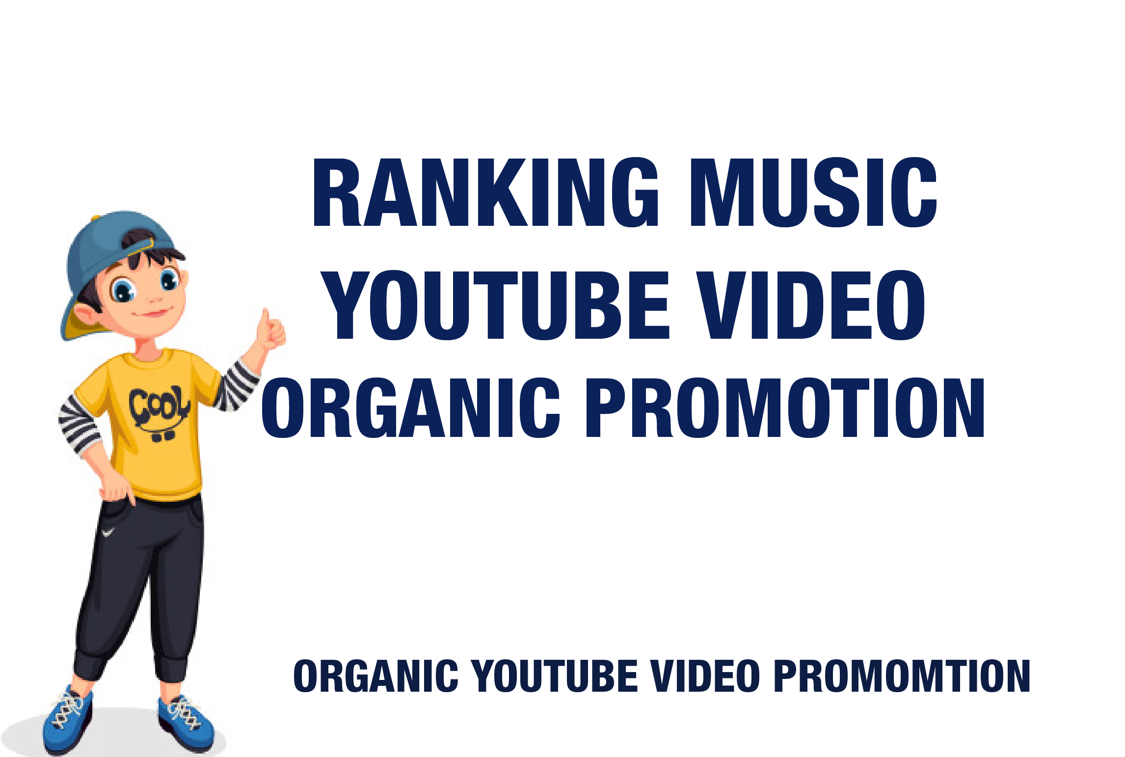 I will do organic YouTube video promotion Also Free YouTube Complete SEO Setting For New & Existing