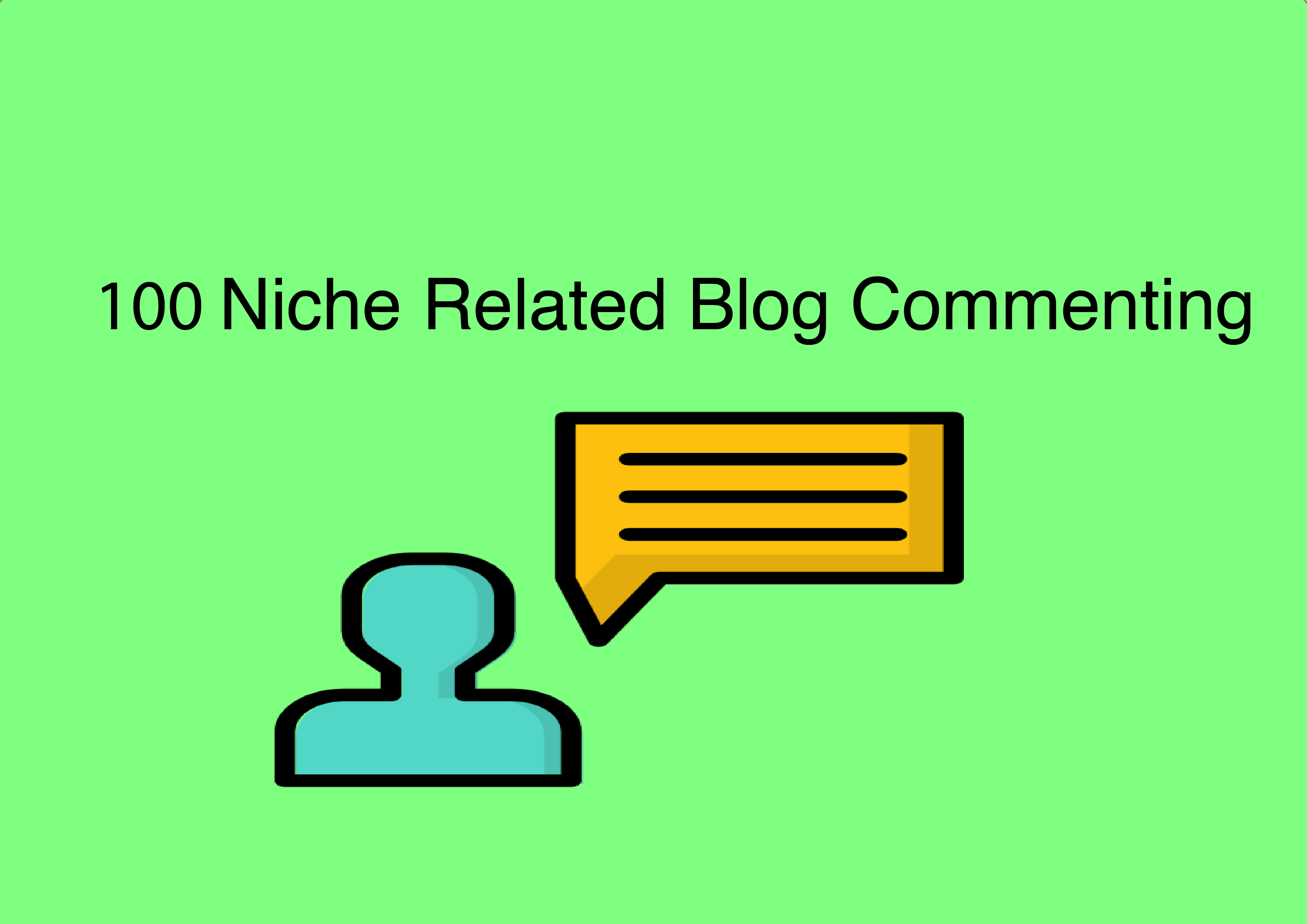 100 Niche Related Blog Comments