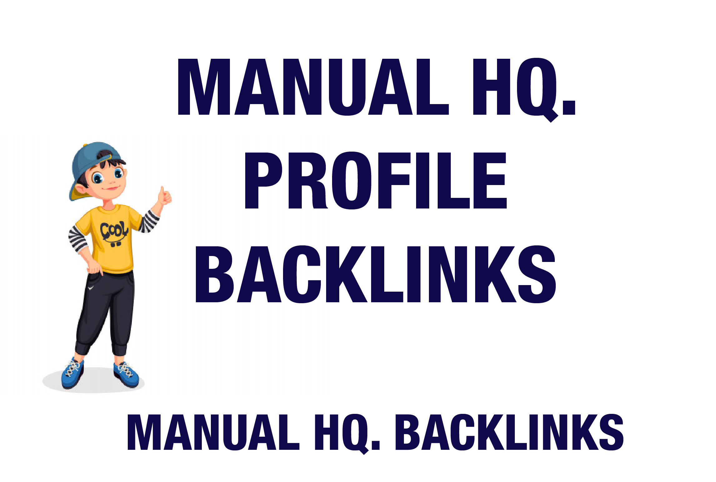 I will Provide Handmade 50 High DA Profile Backlinks Perfect For Every Websites