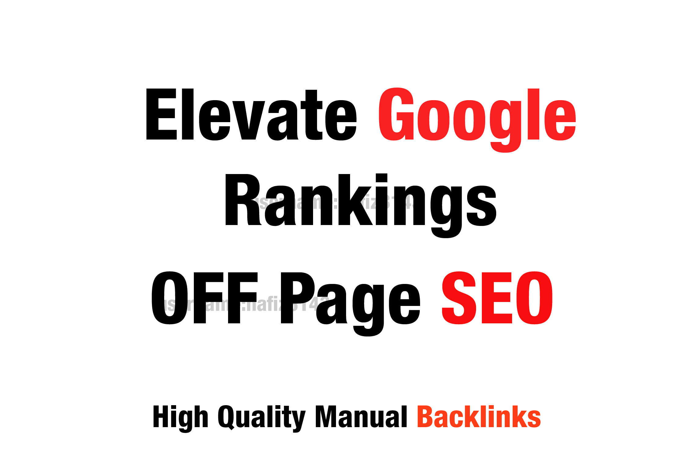 Boost Your Ranking On Google Monthly backlinks white hat manual linkbuilding service off Page SEO
