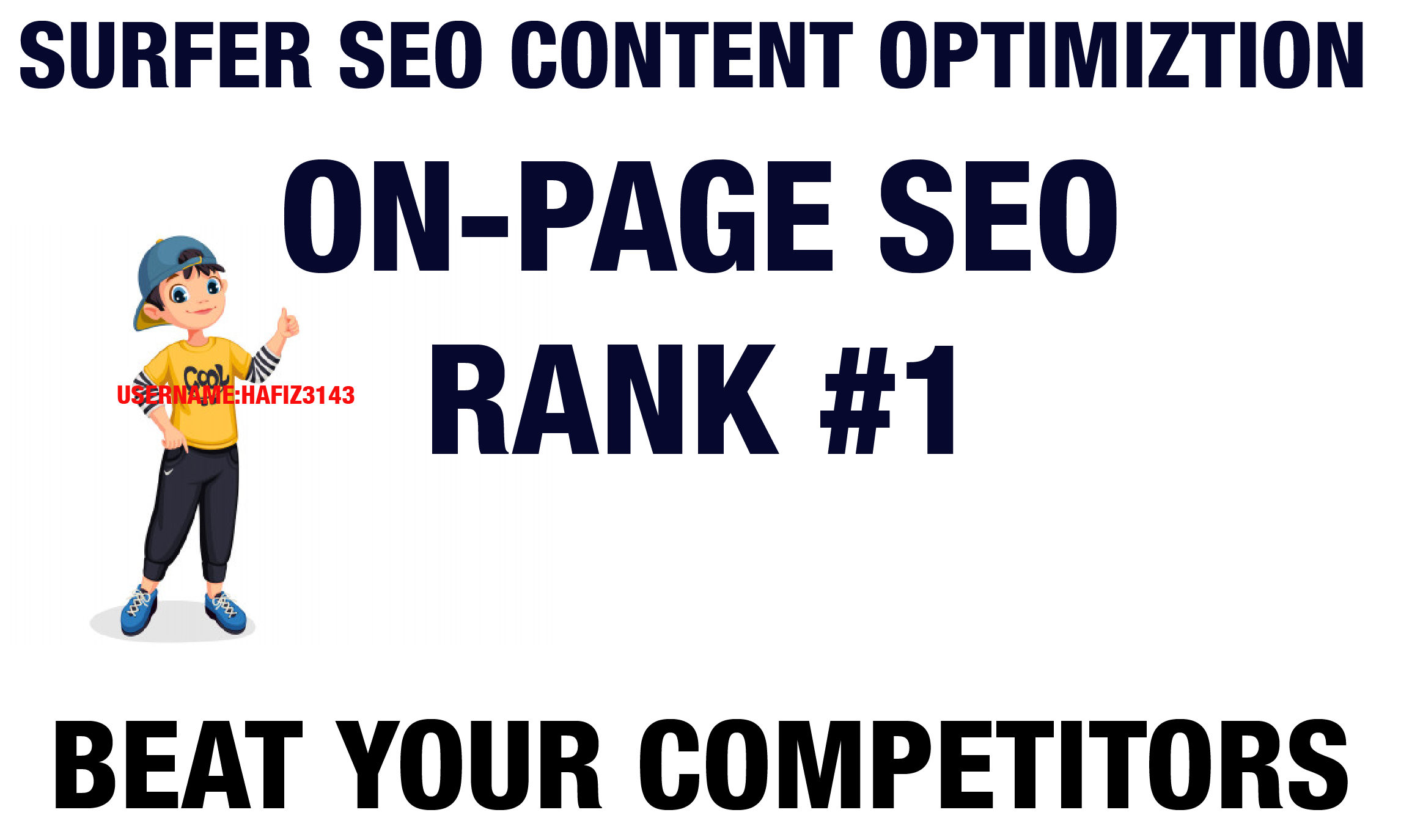 On-Page SEO With Surfer SEO To Optimized Your Content Rank 1 Google
