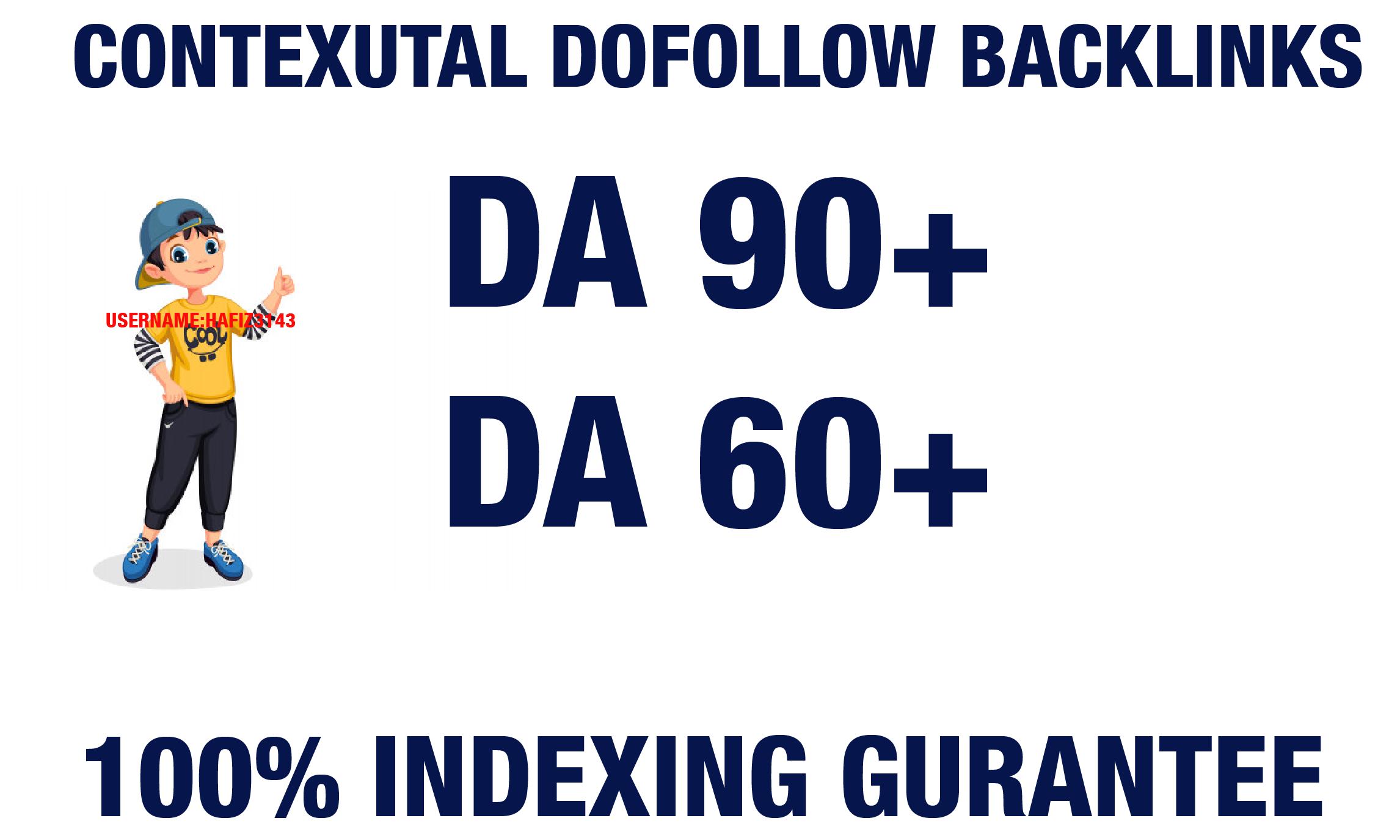 Publish 3 Articles DA 90 To 60 Plus Dofollow Contextual SEO Backlinks
