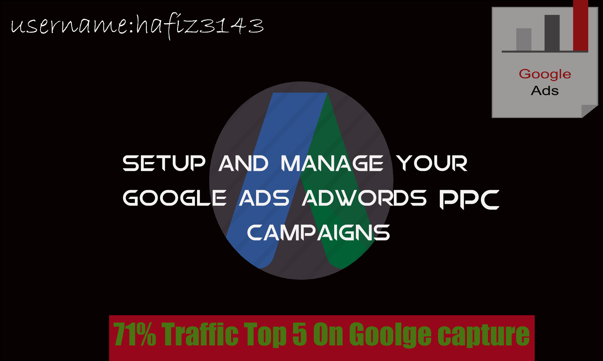 I will be your monthly google ads expert for Manage google ads campaign