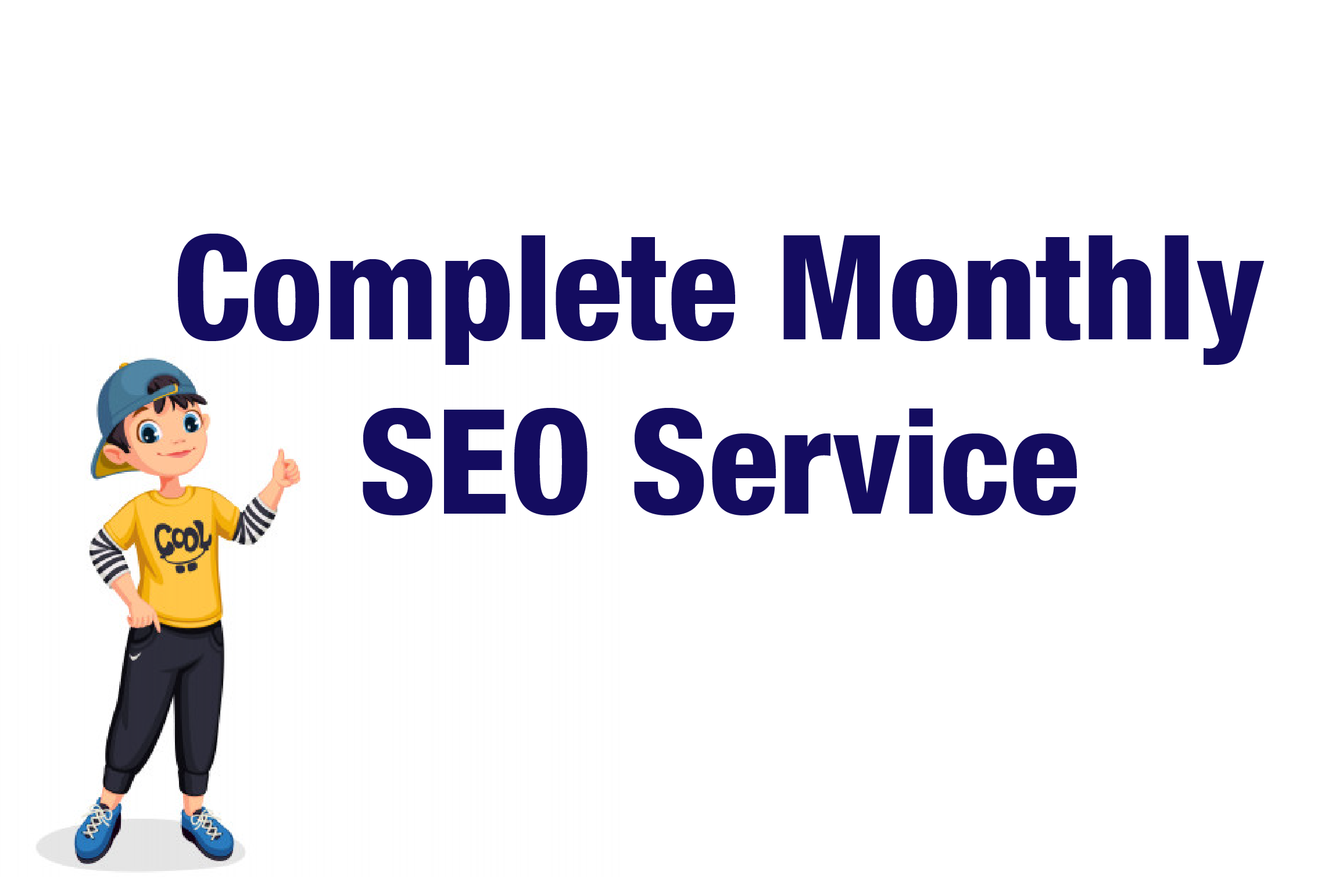 I will Provide Complete Monthly SEO Service On Page & Off Page SEO For Top Google Ranking
