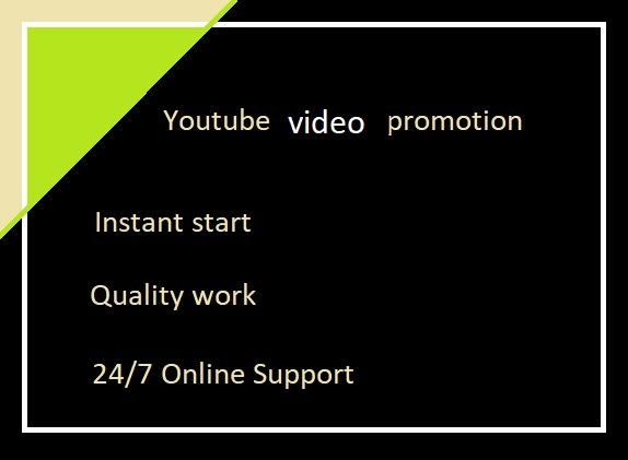 Do Real Youtube VIDEOS PROMOTION by social media