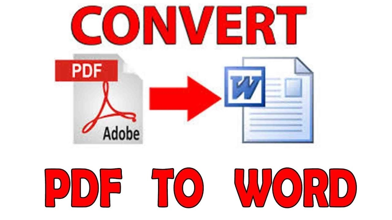 Convert your PDF Document files to Excel,  word files
