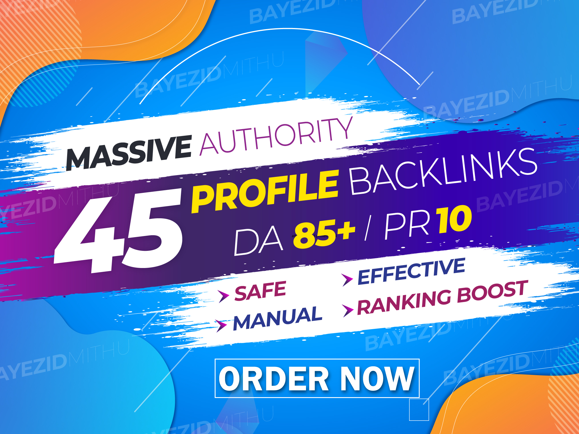 45+ High-Quality social media profile backlinks,  SEO LinkBuilding