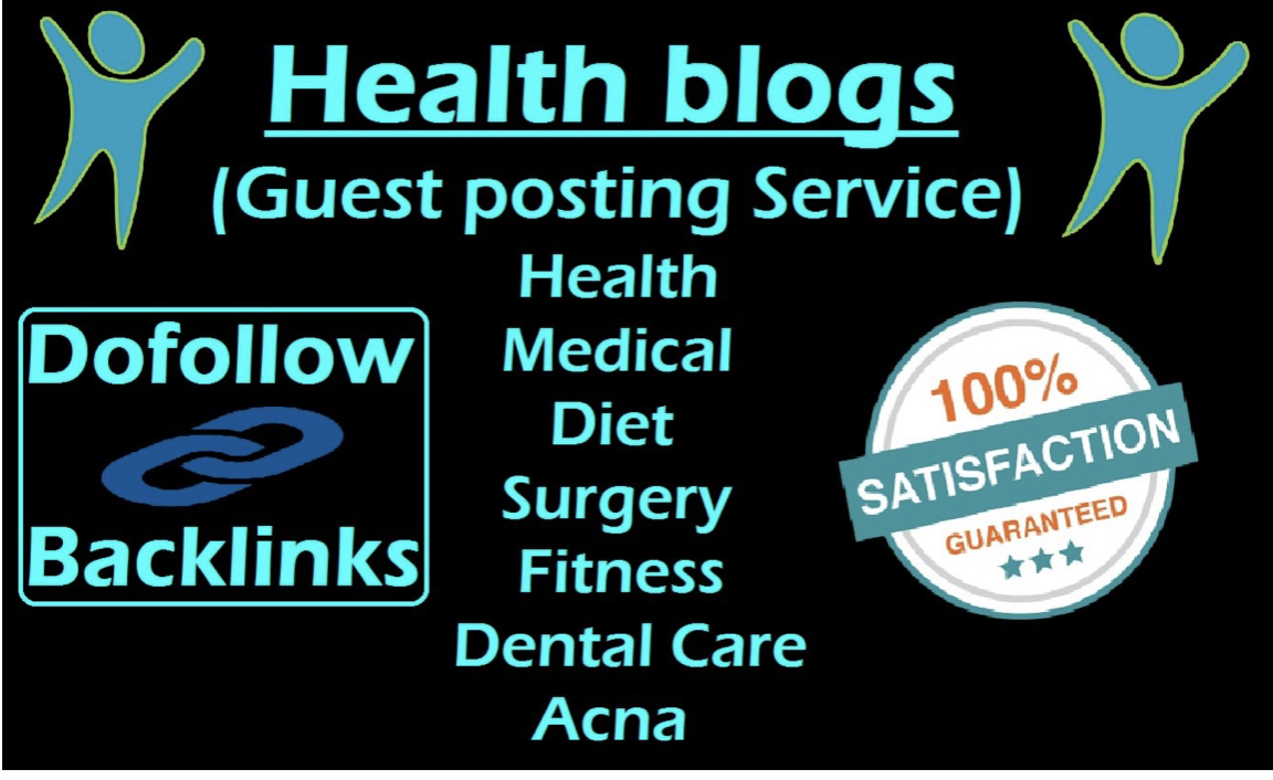 Guest Post On Health Sites Da31+