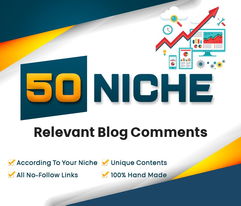 I will do 50 niche relevant manual nofollow backlinks