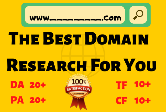 2 expired domain research with high metrics pbn for your niche targeted
