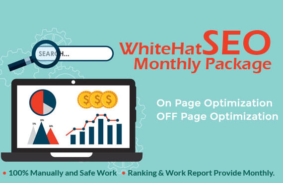 Monthly 30 days High Quality SEO Backlinks Service